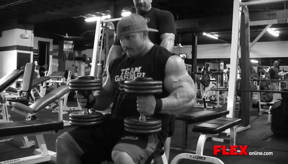 Flex Lewis' Shoulder Workout