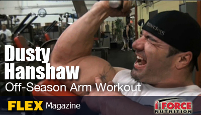 Dusty Hanshaw off-season arm workout