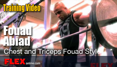 fouad abiad chest workout