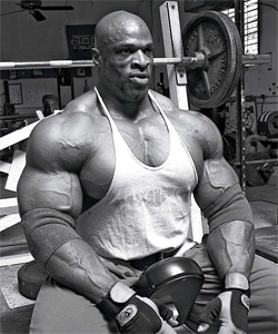 Ronnie Coleman couple