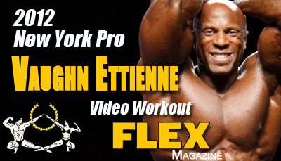 One on One with IFBB Pro Bodybuilder Vaughan Ettienne