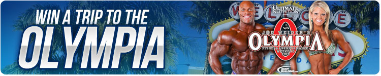 Win a trip to the Olympia!