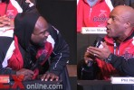 Phil Heath and Kai Greene Face Off at the 2014 Olympia Press Conference