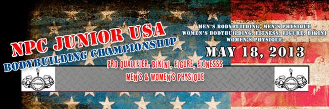 NPC Junior USA Championships 2013