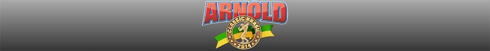 2014 Arnold Classic Brazil Event banner