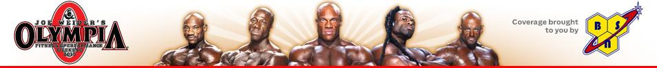 IFBB Olympia Weekend 2013 Event banner