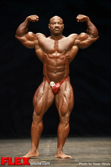Dexter Jackson Wins the 2012 Masters Olympia