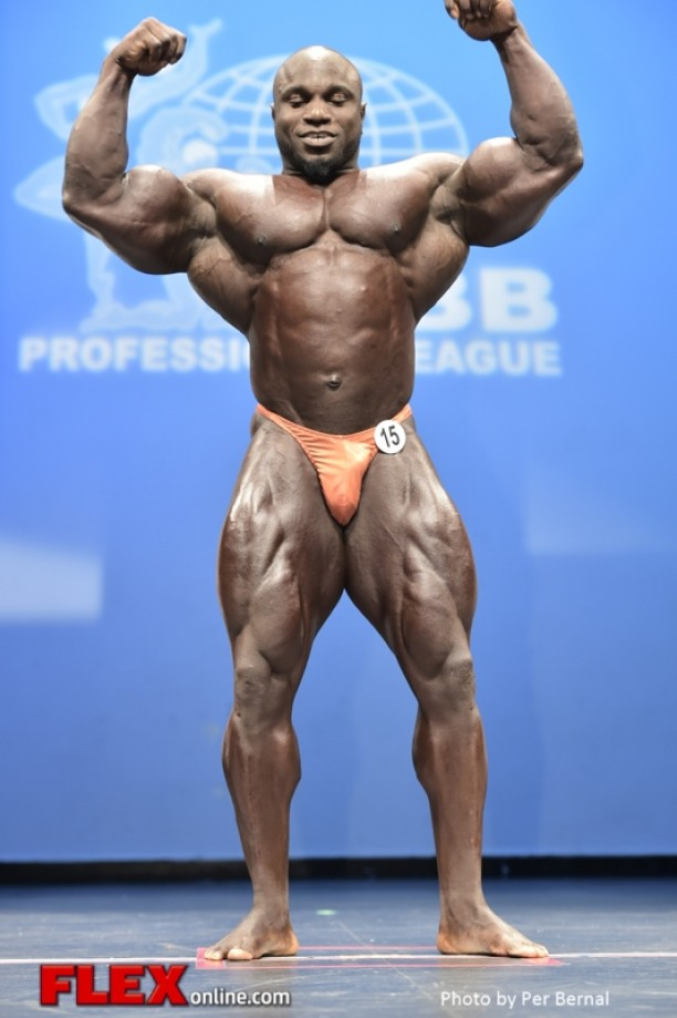 Akim Williams' 10 day out progress photos - IFBB Chicago