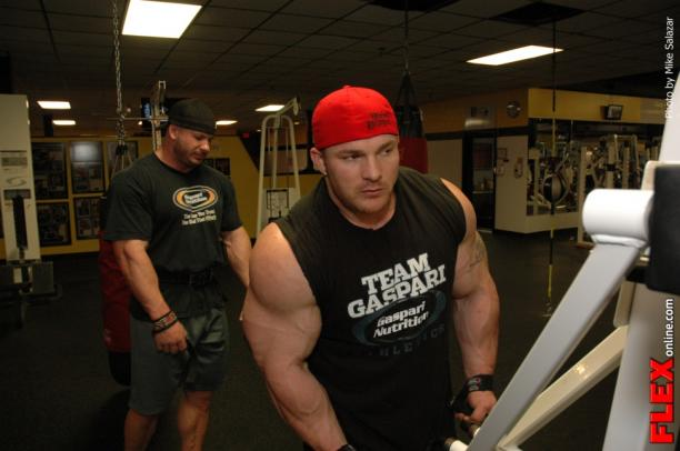 Flex Lewis Off Season Shoulder