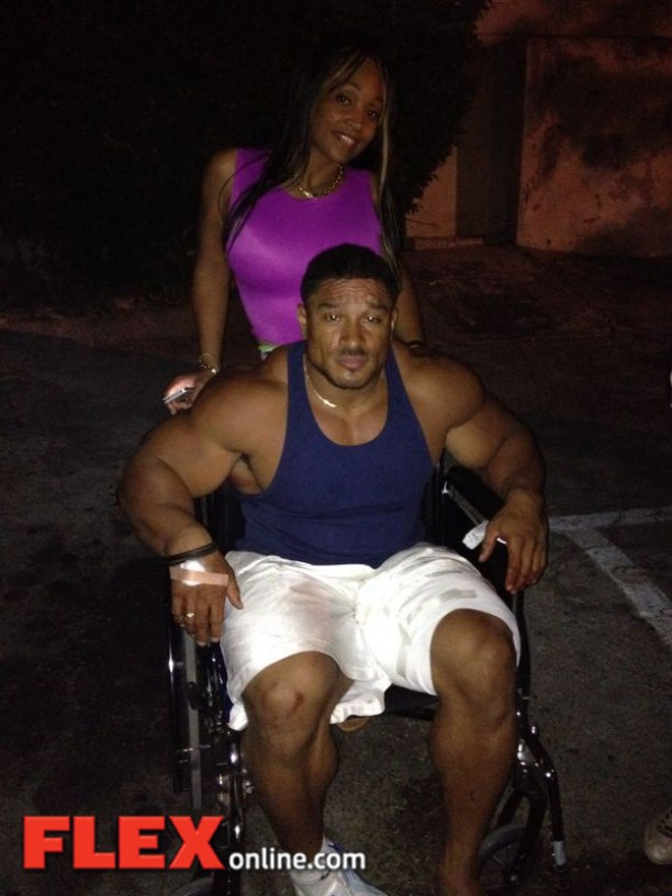 Roelly Winklaar Out Of Arnold Classic Flex Online