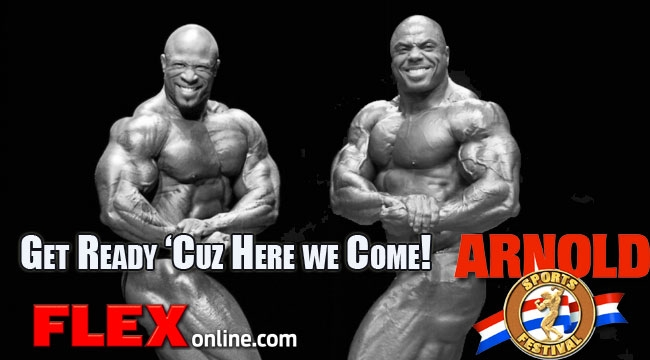 Article: Check out the latest updates on the 2013 Arnold Classic