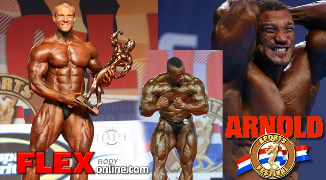Curious 2008 arnold amateur results