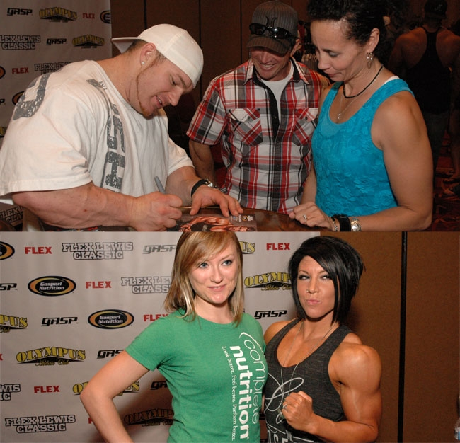fitness expo featuring 20 sponsors and vendor exhibits