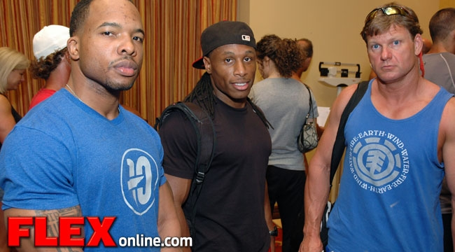 Flex LEwis Classic 100 competitors from 12 surrounding states