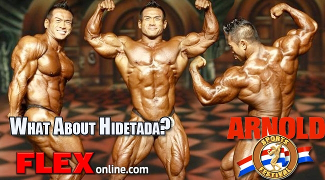 Hidetada Yamagishi to compete in the 2013 Arnold Classic