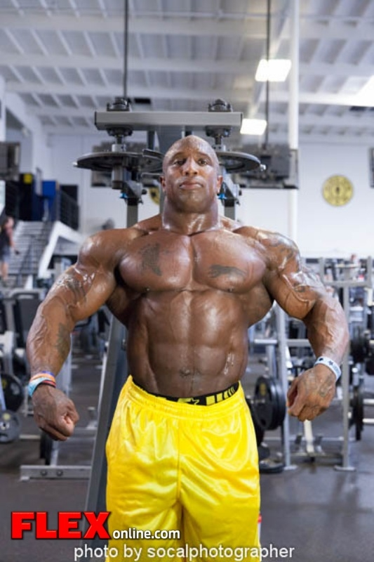 keith williams trains for 2013 Chicago Pro